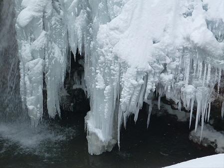 県民の森七滝氷瀑17(2013.1.30)