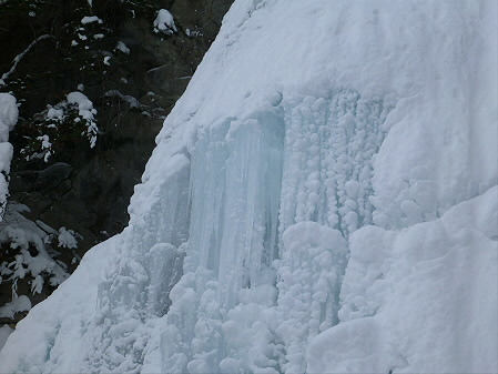 県民の森七滝氷瀑18(2013.1.30)