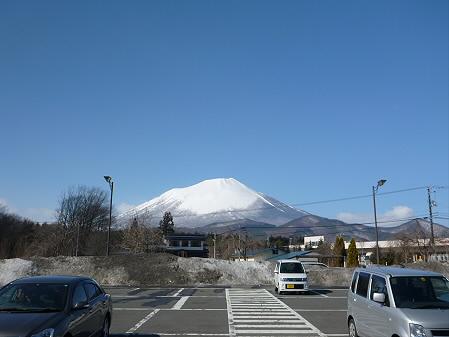 道の駅にしねからの岩手山01(2013.3.15)