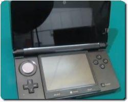 Disassembled Nintendo 3DS
