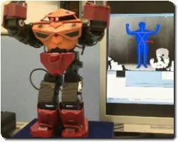 Control the Humanoid Robot by Kinect