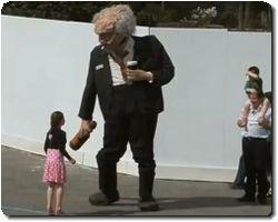 Giant Alcoholic Puppet Terrorizes Ireland