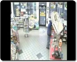 Clerk Foils Robbery Attempt With Samurai Sword