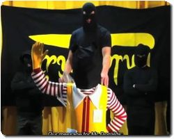 They kidnapped Ronald!