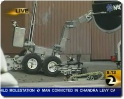 SFPD Robot Drops Runs Over Grenade on Live TV