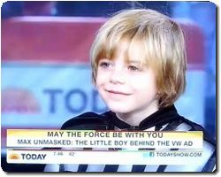 VWs little Darth Vader Kid Unmasked!!