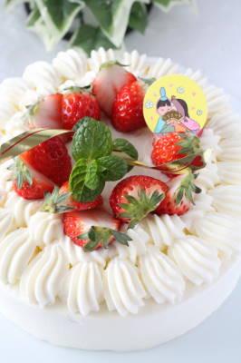 ショートケーキひな1
