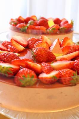 イチゴのムース3・8・4