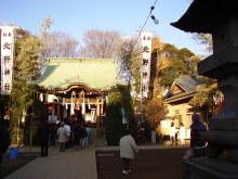 陽だまりネコ『まるまりこ』-1月2日の北野神社