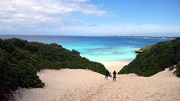 宮古島 お昼時、ふらっと宮古一人歩き 砂山ビーチ