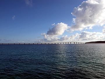 宮古島 前浜ビーチ 来間大橋
