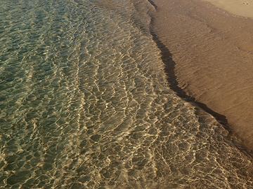 宮古島 前浜ビーチ 浪打ち際