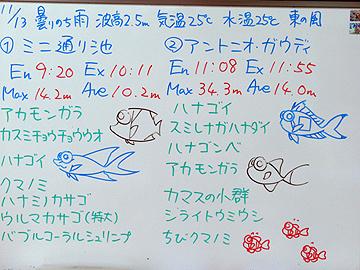 宮古島 ログデータ 2009/11/13