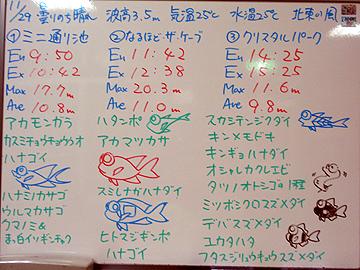 宮古島 ログデータ 2009/11/29