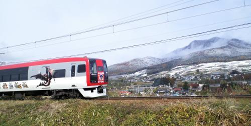 モンハン特急と高社山(25.11.12)