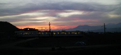 夕焼け列車(25.11.14)
