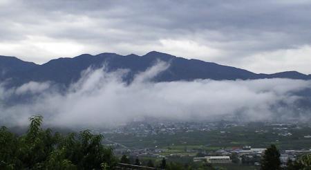 今日の山ノ内町(25.8.30)