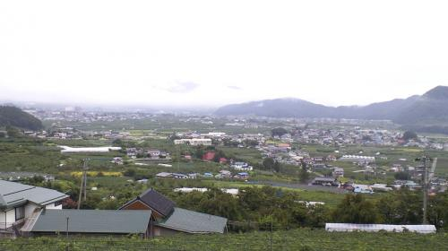 今日の山ノ内町(25.9.2)
