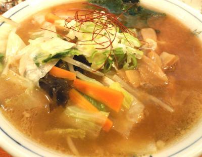 〆の味噌ラーメン(25.9.2)