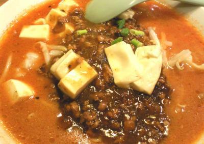 麻婆豆腐ラーメン(25.9.17)