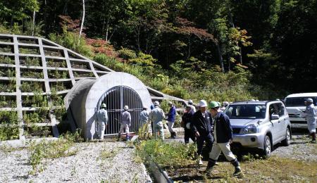 集水トンネル(25.9.27)
