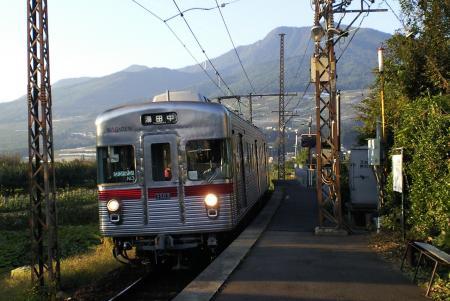 長野電鉄で湯田中へ(25.9.29)