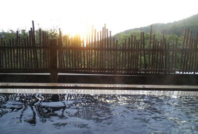 蕨温泉からの夕景(25.10.18)