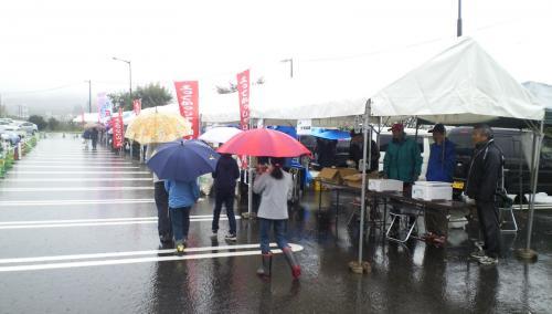 雨のよってかっしゃい山ノ内(25.10.20)