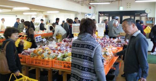 道の駅野菜果物市(25.11.2)