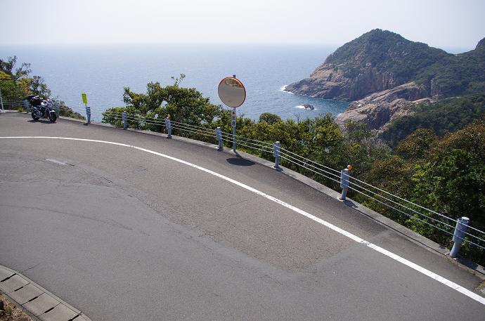 県道23号 四国最南端への道のり