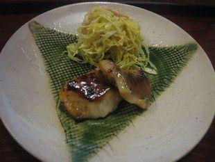 4 仁行 +カワラ、キャベツサラダ