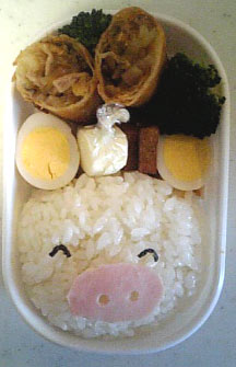 豚?さん弁当