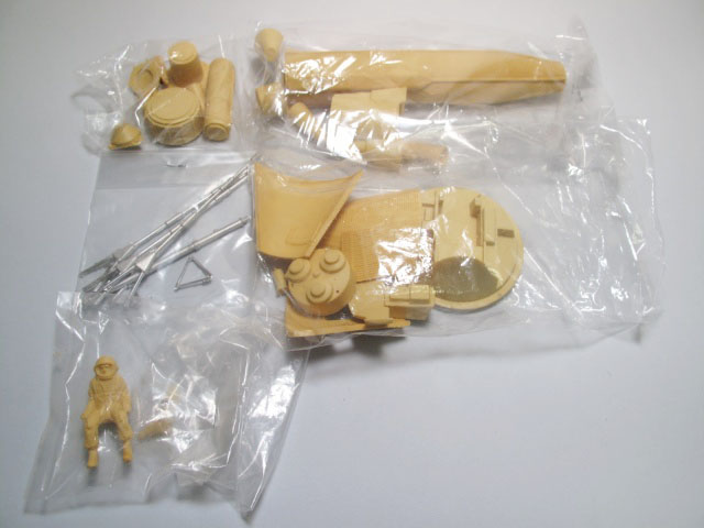 マーキュリーカプセル&アトラスブースター【ラクーンモデル】【1/32・1/144】