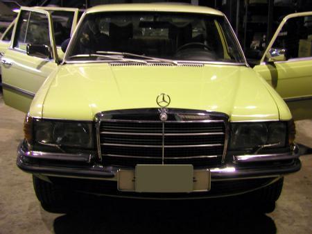 W116 280SE オールドベンツ レストア N号 3