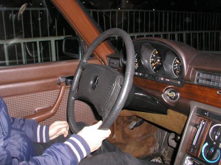 W116 280SE オールドベンツ レストア N号 4