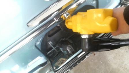 給油口 W108 オールドベンツ レストア