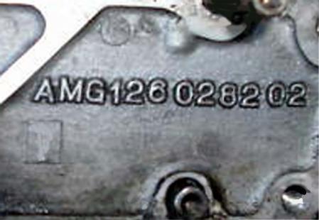 W126 AMG 5.4 シリンダーヘッド M117 HAMMER