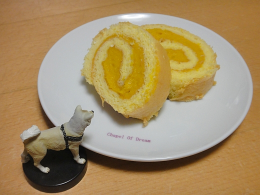かぼちゃ回し焼菓子