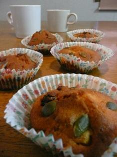 パンプキンカップケーキ 作業過程 010
