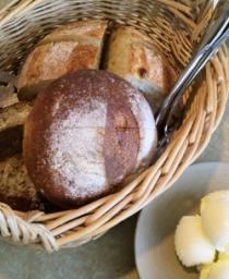 自家製パンが美味しい♪