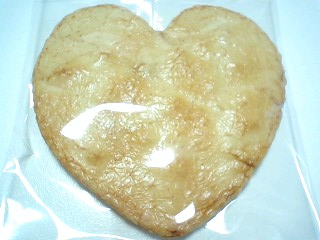 ハート煎餅