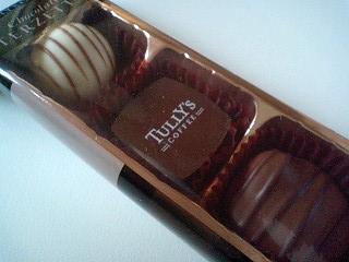 タリーズ チョコレートテルゼット¥300