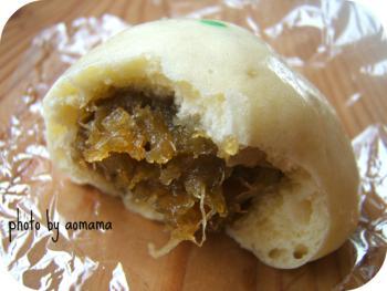 野沢菜饅頭