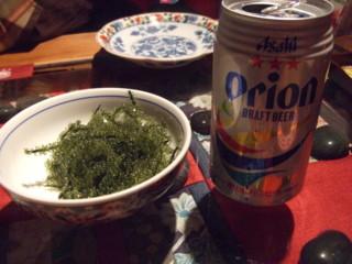 海ぶどうオリオンビール