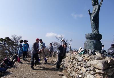 釈迦ケ岳頂上