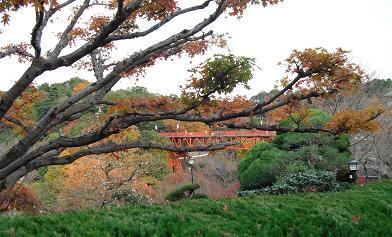 信貴山への橋