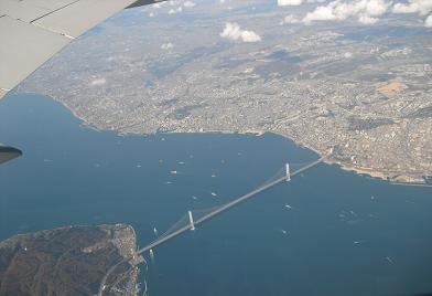 明石海峡・明石大橋