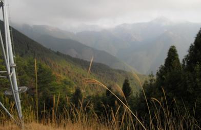 大天井ヶ岳方面