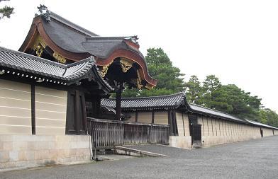 京都御所・健春門