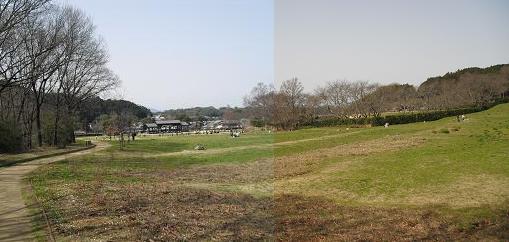 明日香村・石舞台前の広場